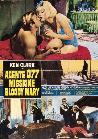 Agente 077 missione blood mary