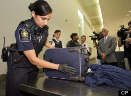 Airport security canada