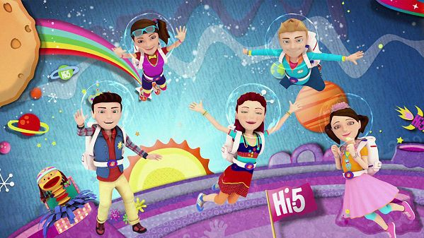 Hi-5 healthy & active - try something new