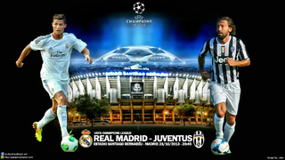 Champions league Real Madrid - Juventus