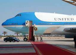 A bordo dell'air force one