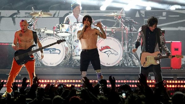 Rock legends: red hot chili peppers