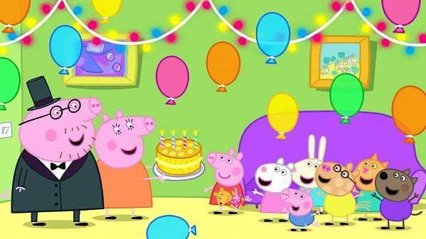 Peppa pig 8 - lots of muddy puddles