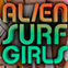 Alien surf girl