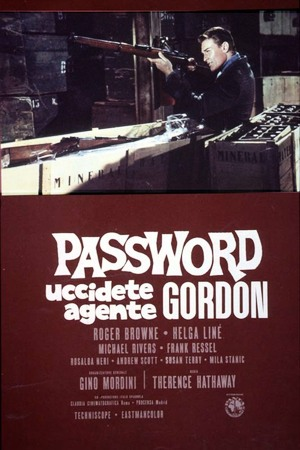 Password uccidete agente gordon